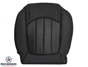 2008 2012 Buick Enclave driver Side Bottom Perforated Leather Seat Cover Black