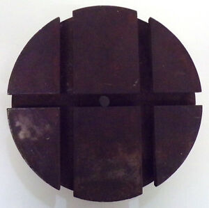 Unknown Brand T slotted Lathe Chuck Plate Od 5 1 2 Bore 3 8 Face Width 1 1 1