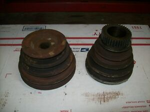 South Bend 9 Lathe Headstock Spindle Pulley V Belt Drive Upgrade