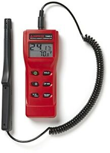 Amprobe Thwd 5 Temperature And Relative Humidity Meter With Wet Bulb And Dew Poi