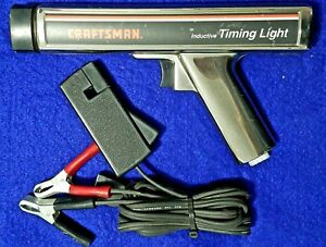 Sears Craftsman Inductive Timing Light Gun 28 2134 Untested As Is