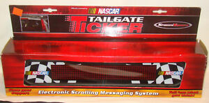 Nascar Electronic Scrolling Message Tailgate Ticker W adaptor