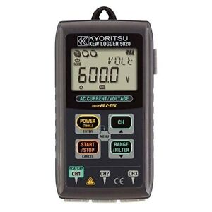O35 Kyoritsu Kew 5020 Data Logger For Leakage Current For Current And Voltage
