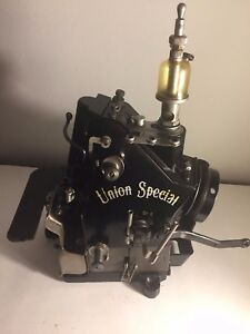 Union Special 39200 352396 Overlock Industrial Sewing Machine head Only