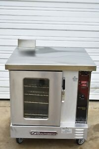 Southbend Gh 10cch Half Size Gas Convection Oven Electronic Panel