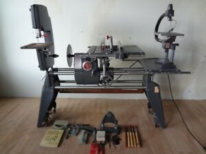 Shopsmith Mark V Model 510 Table Saw Drill Press Disc Sander Lathe