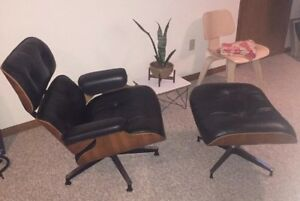 Eames Lounge Chair 670 And Ottoman 671 Original And Authentic Herman Miller