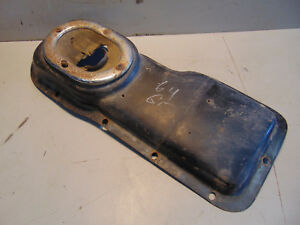 Mgb Transmission Shifter Cover Plate Nice And Rust Free 1 Jc8b