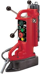 Milwaukee Electro magnetic Adjustable Position Drill Press Base With 11 In