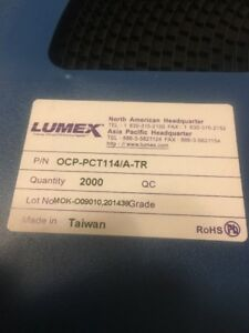 Lumex Ocp pct114 a ar Opto coupler lot Of 2 000