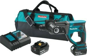 Makita 18 volt Lxt Lithium ion 7 8 In Cordless Sds plus Concrete masonry Drill