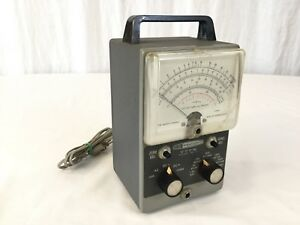 Vintage Heathkit Meter Vtvm Vacuum Tube Volt Meter Model Im 11 Meter As Is