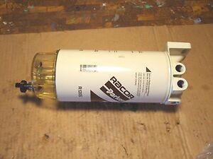 New Parker Racor 6120 Fuel Filter Separator Assembly 120 Gph 3 8 Npt Threads