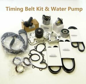Timing Belt Kits With Water Pump 3 4l V6 5vzfe Fit Toyota Tundra 4runner Tacoma