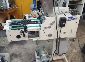 Press Specialties C 9000 Envelope Feeder With Conveyor video Link In Description