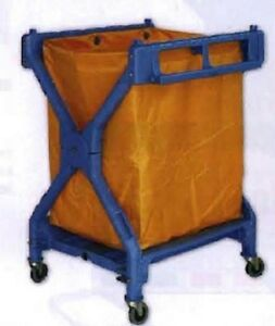 X Frame Garbage Cleaning Janitorial Cart Brand New In Box