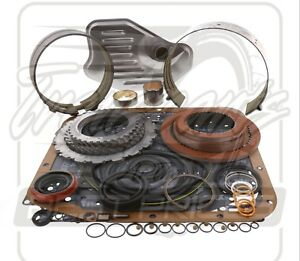 Ford 4r70w Transmission Raybestos Performance Red Deluxe Rebuild Kit 96 03