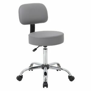 Boss B245 Medical Stool With Back Cushion