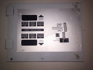 Ad 430 Keypad With Plate For American Dryer Part 112540 L k Free Shipping