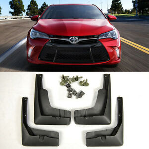 For 15 17 Toyota Camry Oe Front Rear 4pcs Set Fender Splash Mud Guards Flaps