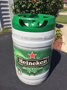 Heineken Beer Keg Advertising Display Hangs From The Ceiling Rare