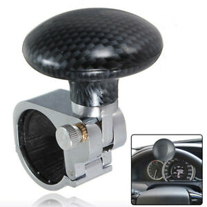 Us Sale Collapsible Car Power Steering Wheel Suicide Spinner Handle Knob Booster