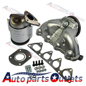 Exhaust Manifold With Integrated Catalytic Converter Fits 1996 2000 Honda Civic