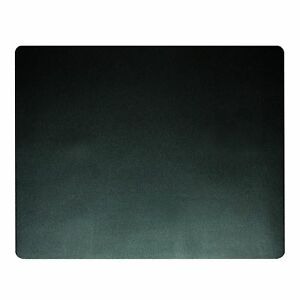 Artistic 19 X 24 Eco black Desk Pad With Microban Black