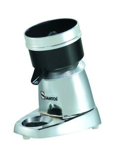 Santos 11c classic Commercial Citrus Juicer Chrome Colored 3 Reamers
