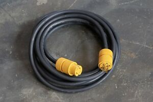 Heavy Duty Cable 30 Foot 12 4 Type Sow a General Electric Connectors