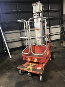 Skyjack Sjpt 15 Vertical Mast Lift Picker