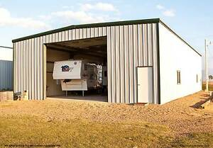Thunderbolt Steel Buildings 25 X 50 X 16 Clear span Steel Garage Kit