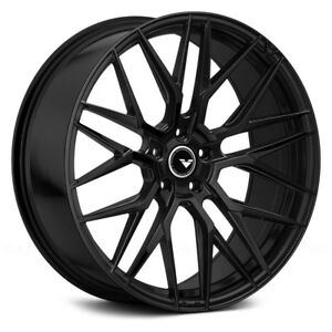 22 Vorsteiner Vff 107 Gloss Black Concave Forged Wheels Rims Fits Jaguar F Pace