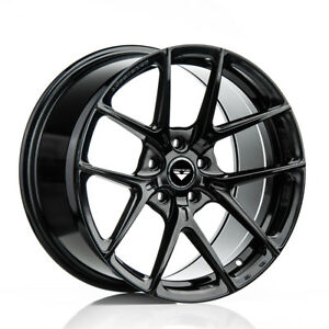 20 Vorsteiner V ff 101 Forged Black Concave Wheels Rims Fits Ferrari 458 Italia
