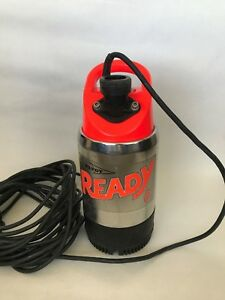 Flygt 2008 211 0001 Submersible Sump Pump Ready 8 115 Volt 90 Gpm