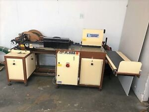 Printing Equipment Challenge Multi Head Drill Wire o Binder Miehle Vertical