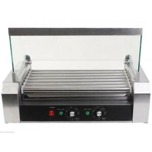 Hot Dog Roller Grill Machine Ball Park Gas Station Home Grilling Brats Corn Dogs