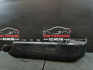 2006 Ford Expedition Pass Rear Bumper Extension Black Ua W Lip Molding Style