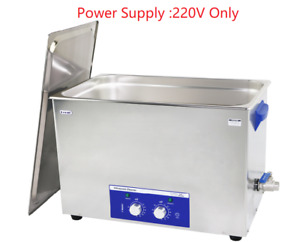 28l Derui Ultrasonic Cleaner Dr mh280s Motorcycle Car Parts Washing Machine
