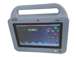 Icu Ccu Transport Anesthesia Monitor Multi Parameter Etco2 Module Fda Printer