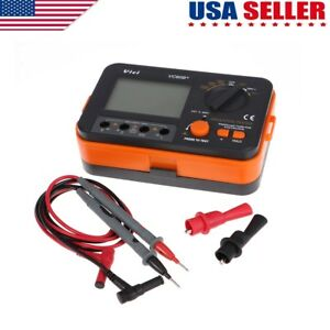 New Vc60b Digital Insulation Resistance Tester Megger Megohm Meter 1000v Us