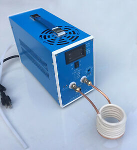 220v 2000w High frequency Induction Heating Machine Silver Gold Melting Furnace