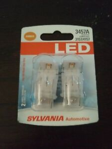 Brand New Sylvania Super Bright Orange Amber Led 3157a 3457a 4157a Free Shipping