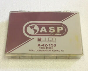 Asp A 42 150 For Ford Combination Keying Kit