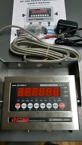 New Optima Op 900a 11 Ss Scale Digital Weighing Indicator surge Protector