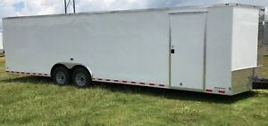 New 8 5x28 Cargo Trailer Car Hauler With Free Upgrades 5 Year Warranty