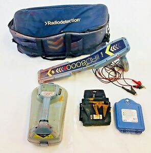 Rd8000 Cable And Pipe Locator Carrying Bag Included