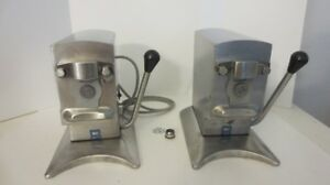 Lot Of Edlund 270 Electric Can Opener 2 speeds As Is