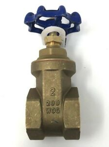 American Valve G300 2 2 In Lead Free Full Port Gate Valve New With Tags