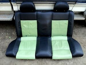 1998 2005 Vw Beetle Turbo Leather Cyber Green black Back Seat color Concept Ed